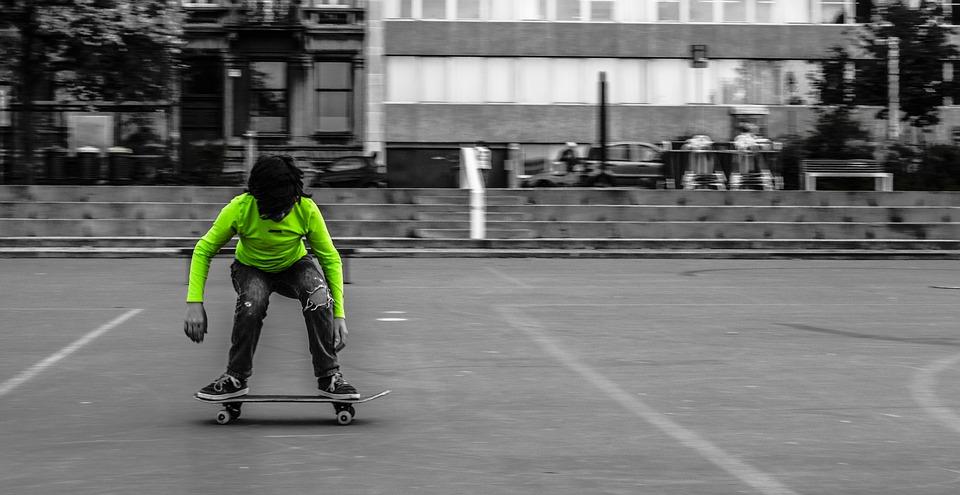 Skate-electrique